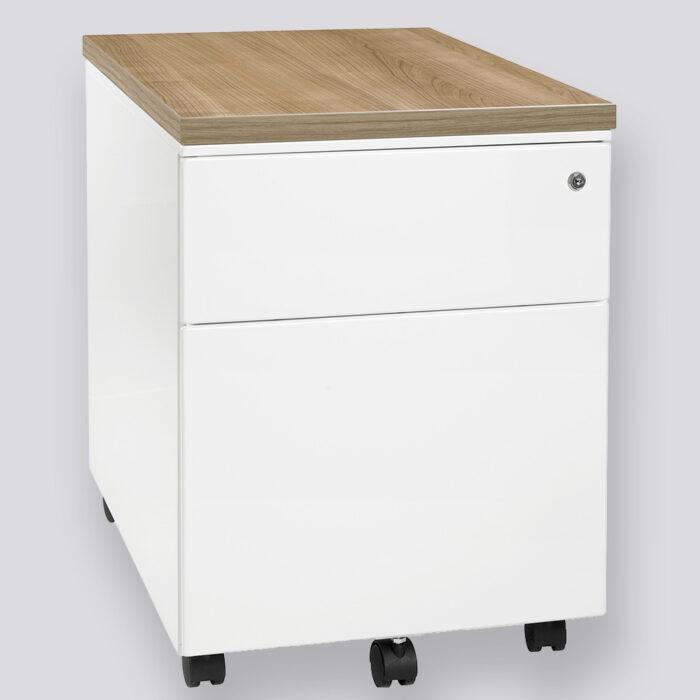 ladeblok TKS20 met 2 lades waarvan 1 voor onder ander voor hangmappen gebruikt kan worden.