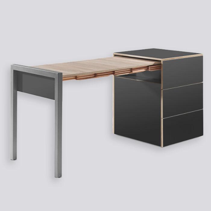 De Spacebox een zeer aantrekkelijke optie als thuiswerkplek in de woonkamer