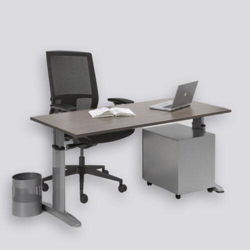 Labora thuiswerkplek bestaat uit een bureautafel en een ergonomische bureaustoel