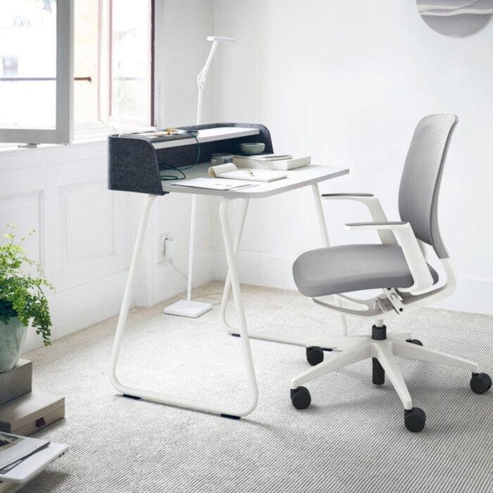 Complete thuiswerkplek Home Compact met een Sedus bureaustoel