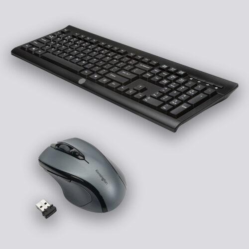 Toetsenbord en muis draadloos