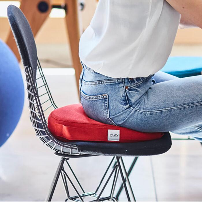 Ergonomisch zitkussen voor thuiswerken