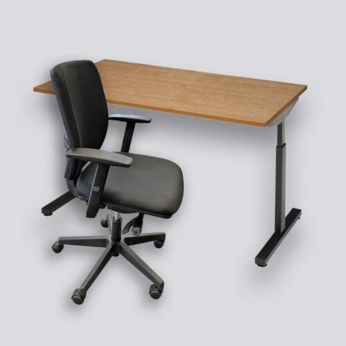 goedkoop bureau + bureaustoel